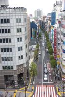 区役所通り(俯瞰)