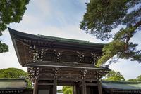 明治神宮・御社殿入口の屋根