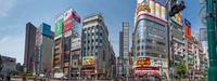 TOHOシネマズ新宿(新宿東宝ビル)-靖国通りよりパノラマ