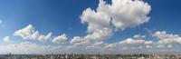 練馬の街並みパノラマ(北方向)