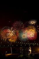 第27回東京湾大華火祭(2015年)