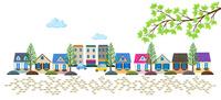 石畳の住宅街