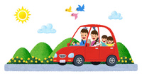 家族でドライブ 10514000074| 写真素材・ストックフォト・画像・イラスト素材|アマナイメージズ