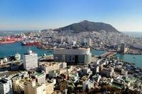 釜山港方面の街並 釜山 10530000027| 写真素材・ストックフォト・画像・イラスト素材|アマナイメージズ