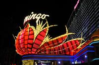 ラスベガスのホテルのイルミネーション 10530007003| 写真素材・ストックフォト・画像・イラスト素材|アマナイメージズ