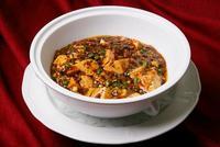 中華料理、麻婆ドーフ、
