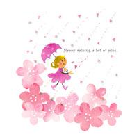 桜の雨 10536000071| 写真素材・ストックフォト・画像・イラスト素材|アマナイメージズ
