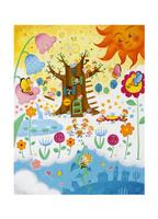 妖精と光の国 10536000073| 写真素材・ストックフォト・画像・イラスト素材|アマナイメージズ