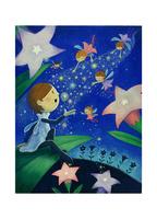 妖精と光の道 10536000074| 写真素材・ストックフォト・画像・イラスト素材|アマナイメージズ