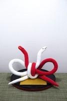 へび 編み物
