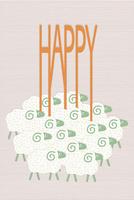 HAPPYを運ぶ羊たち