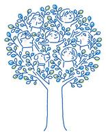 家族の木 10559000124| 写真素材・ストックフォト・画像・イラスト素材|アマナイメージズ