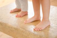 子供たちの足