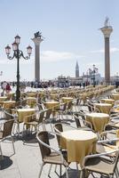 サンマルコ広場に広がるカフェテラス