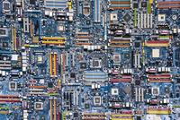 集積回路基板 10573005301| 写真素材・ストックフォト・画像・イラスト素材|アマナイメージズ