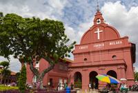 オランダ広場とキリスト教会