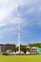ムルデカスクェアのマレーシア国旗