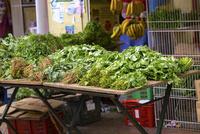 リトルインディアの葉野菜と香草