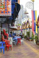 リトルインディアの飲食街
