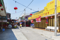 クタム島(カニの島)の海鮮食堂街
