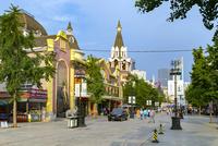 大連,ロシア風情街,メインストリート