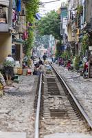 ベトナム統一鉄道の線路