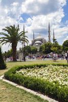 世界遺産イスタンブール歴史地区 スルタンアフメトモスク(ブルーモスク)