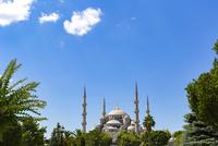 世界遺産イスタンブール歴史地区 スルタンアフメトモスク(ブルーモスク) 10583008955| 写真素材・ストックフォト・画像・イラスト素材|アマナイメージズ