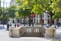 パリメトロ、フランクリン・D・ルーズヴェルト駅入口