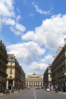 オペラ通り、オペラ座ガルニエ宮方面