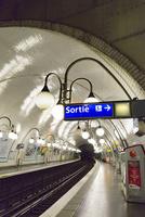 フランスメトロの出口(Sortie)表記