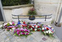 第二次世界大戦、犠牲者への献花