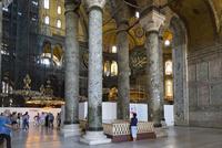 アヤソフィア、ドームの列柱