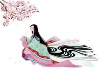 平安時代の女性 春 10587000004| 写真素材・ストックフォト・画像・イラスト素材|アマナイメージズ