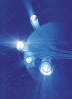 光と通信イメージ CG