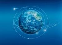 地球軌道光線    CG
