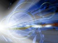 光と線状のオブジェ CG                                       10596000205| 写真素材・ストックフォト・画像・イラスト素材|アマナイメージズ