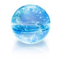 地球と水イメージ