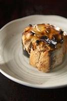 サバ水煮缶詰の味噌チーズ焼き