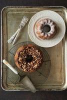 チョコシフォンケーキとココアのクグロフ