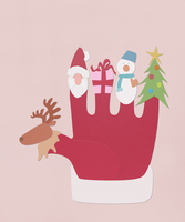 クリスマス手袋