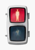 歩行者用信号機 赤信号