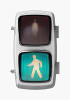 歩行者用信号機 青信号