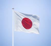 日本の国旗 日の丸