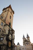 旧市庁舎とティーン教会 プラハ チェコ共和国