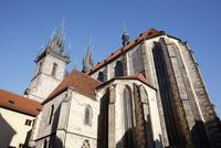 ティーン教会 プラハ チェコ共和国