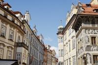 プラハの旧市街の街並み チェコ共和国