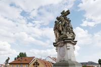 カレル橋の聖ルトガルディス像 プラハ チェコ共和国