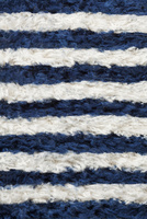 毛糸でできたボーダー柄