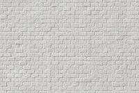 レンガ状の白い塗装壁